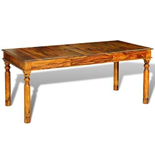 Esstisch aus Sheesham-Massivholz im Kolonial-Stil ♥ Sheesham Esstisch ♥ Sheesham-Holz