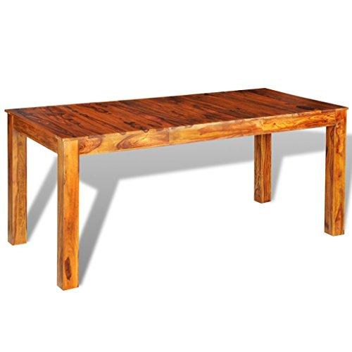 Esstisch aus Sheesham-Massivholz ♥ Sheesham Esstisch ♥ Massivholz, gewachste Oberfläche